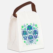 Sugar Skulls IV Canvas Lunch Bag