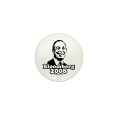 Bloomberg 2008 Mini Button (10 pack)