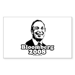 Bloomberg 2008 Rectangle Decal