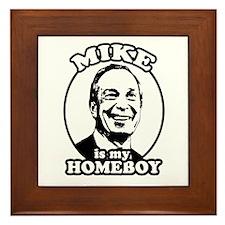 Mike Bloomberg is my homeboy Framed Tile