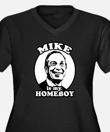 Mike Bloomberg is my homeboy Women's Plus Size V-N