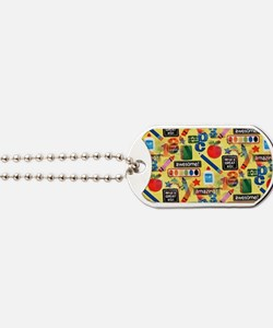 back to school Dog Tags