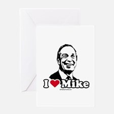 I Love Michael Bloomberg Greeting Card