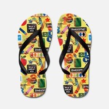 back to school Flip Flops