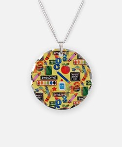back to school Necklace