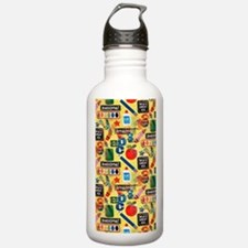 back to school Sports Water Bottle