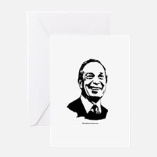 Mike Bloomberg Face Greeting Card