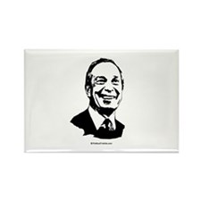 Mike Bloomberg Face Rectangle Magnet