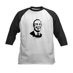 Mike Bloomberg Face Kids Baseball Jersey