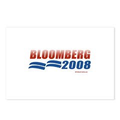 Bloomberg 2008 Postcards (Package of 8)