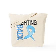 Fighting Back Prostate Cancer Tote Bag