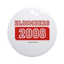 Bloomberg 2008 Ornament (Round)