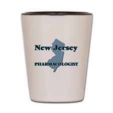 New Jersey Pharmacologist Shot Glass