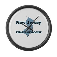 New Jersey Pharmacologist Large Wall Clock