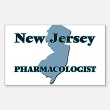 New Jersey Pharmacologist Decal