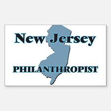 New Jersey Philanthropist Decal