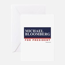 Michael Bloomberg for President Greeting Card