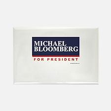 Michael Bloomberg for President Rectangle Magnet