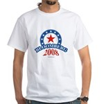 Bloomberg 2008 White T-Shirt
