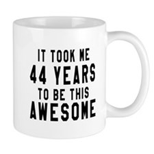 44 Years Birthday Designs Mug