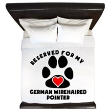 Reserved For My German Wirehaired Pointer King Duv
