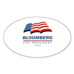 Bloomberg for President Oval Decal