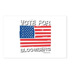 Vote for Bloomberg Postcards (Package of 8)