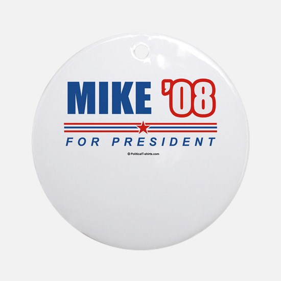 Mike 08 Ornament (Round)