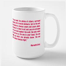 MEREDITH QUOTE Mug
