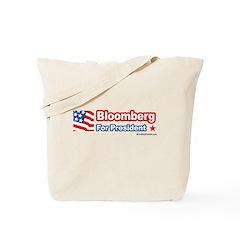 Bloomberg for President Tote Bag