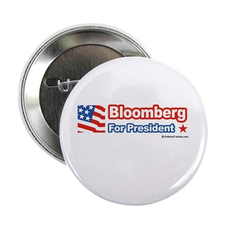 """Bloomberg for President 2.25"""" Button (100 pack)"""