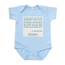 THE BABYSITTER Infant Bodysuit