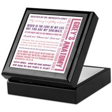QUOTES BY MEREDITH Keepsake Box