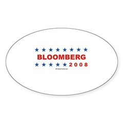 Bloomberg 2008 Oval Decal