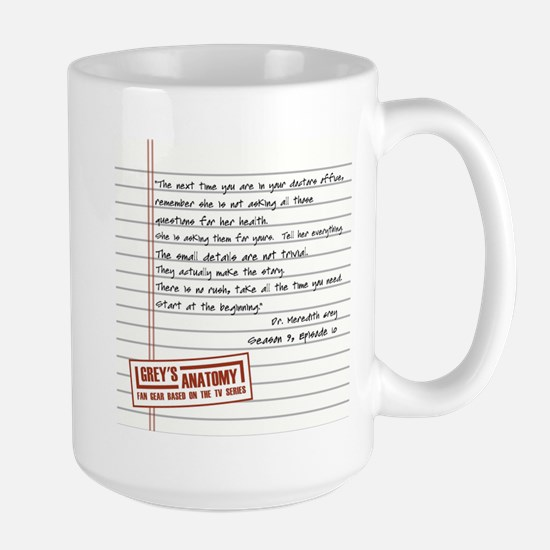 THE DOCTORS OFFICE Large Mug