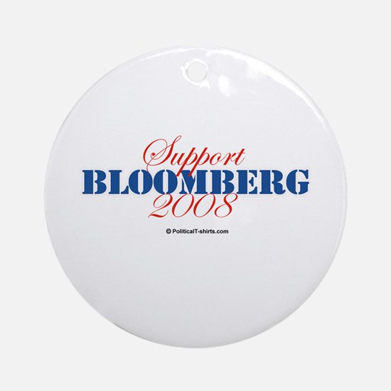 Support Bloomberg Ornament (Round)