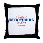 Support Bloomberg Throw Pillow