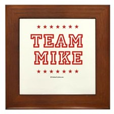 Team Mike Framed Tile