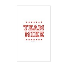 Team Mike Rectangle Decal