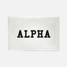 Alpha Magnets