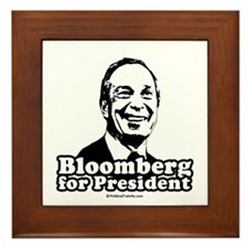 Bloomberg for President Framed Tile