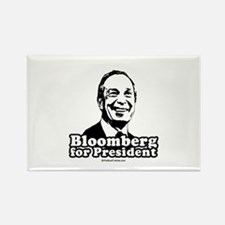 Bloomberg for President Rectangle Magnet