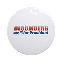 Bloomberg for President Ornament (Round)