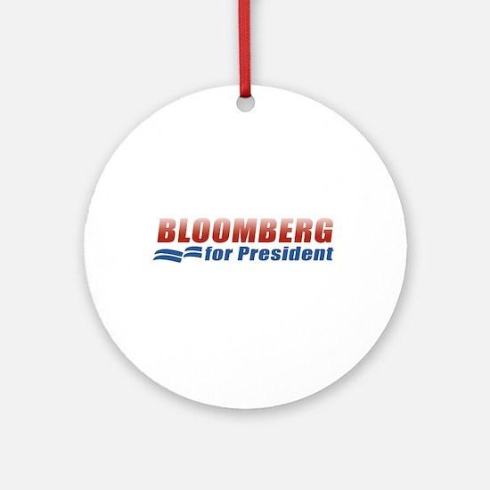 Bloomberg for President Ornament (Round)