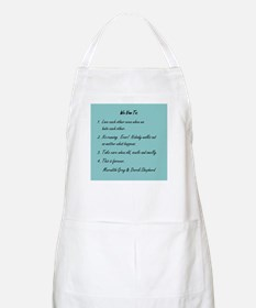 POST-IT NOTE VOWS Apron