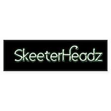SkeeterHeadz Bumper Bumper Sticker
