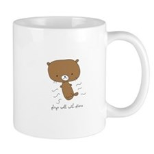 Plays Well With Otters Mugs