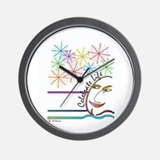 Celebrate Life - English Wall Clock