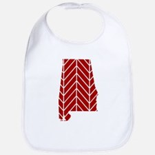 Alabama Chevron Bib