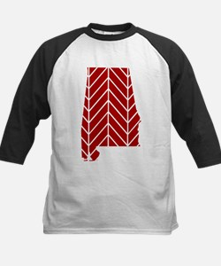 Alabama Chevron Baseball Jersey